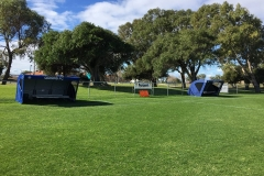 QUINNS FC 2 SHELTERS
